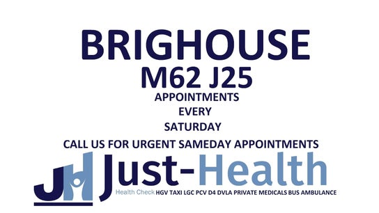BRIGHOUSE Just Health Clinic M62 J25 Archer Road, HD6 1XF