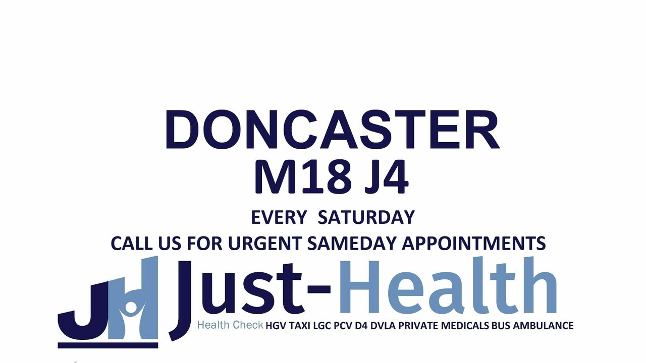 DONCASTER JUST HEALTH CLINIC Opposite Unit 1 Sarah Ct, Yorkshire Way, Armthorpe, Doncaster DN3 3FD