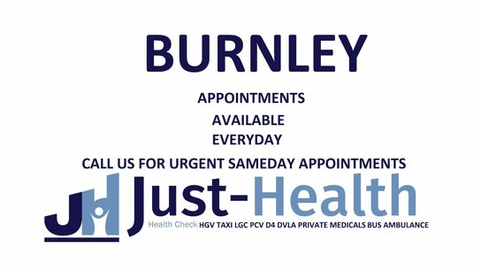 BURNLEY Just Health Head Office FIT TO FLY & DRIVER MEDICALS 2