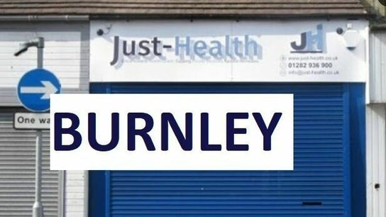 BURNLEY Just Health Head Office FIT TO FLY & DRIVER MEDICALS 3