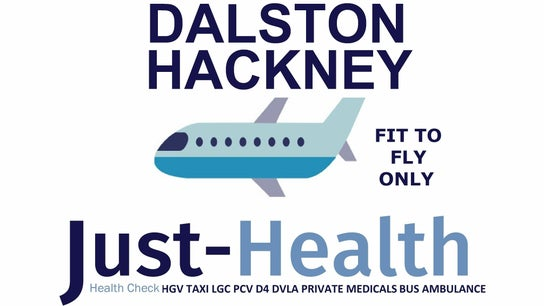 DALSTON HACKNEY Just Health Fit to Fly Clinic E8 4AA 0