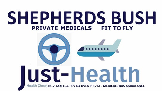 SHEPHERDS BUSH Just Health Fit 2 Fly & Driver Clinic W12 8HD 0