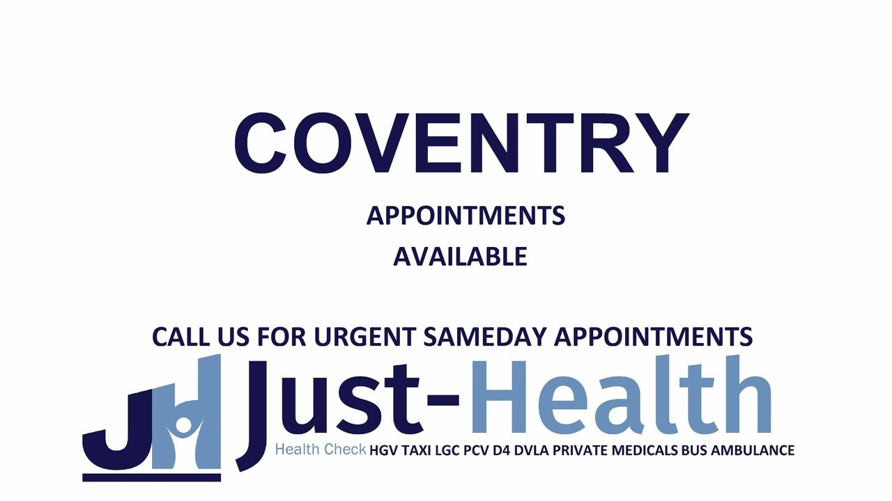 COVENTRY Allure Clinic, (Just Health Clinic) 68 Earlsdon Street Coventry CV5 6EJ
