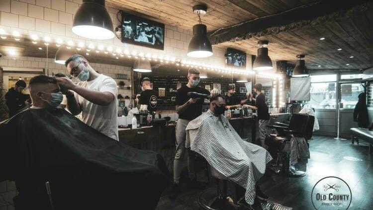 Old County Barbers Crumlin - 1