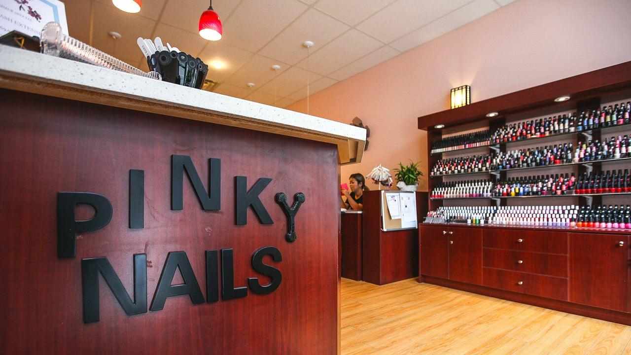 Pinky Nails on Yonge&Wellesley  546 Yonge st. - 1