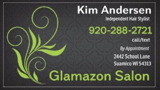 Kim Andersen at Glamazon Hair Salon