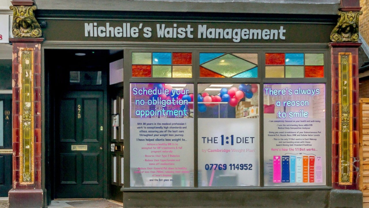 Michelle's Waist Management East Molesey - Award Winning One2One Diet Consultant