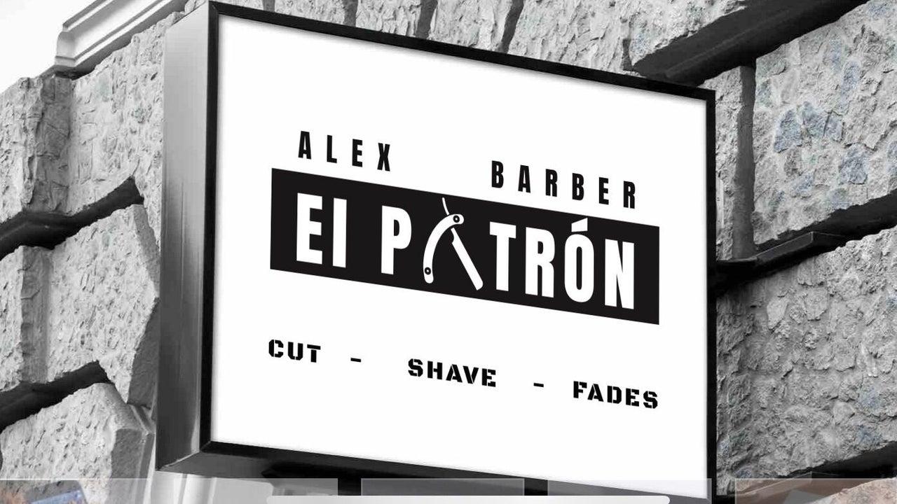 """Alex barber """" EL PATRON """" - 1"""