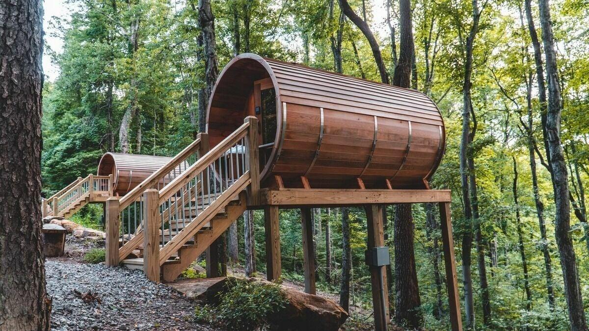 Sauna Pods in Hocking Hills - 1