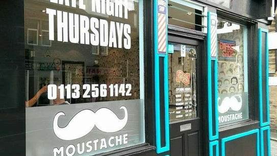 Moustache barbers Pudsey