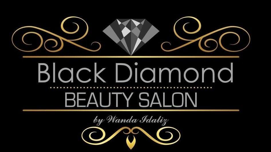Black Diamond Beauty Salon by Wanda Idaliz