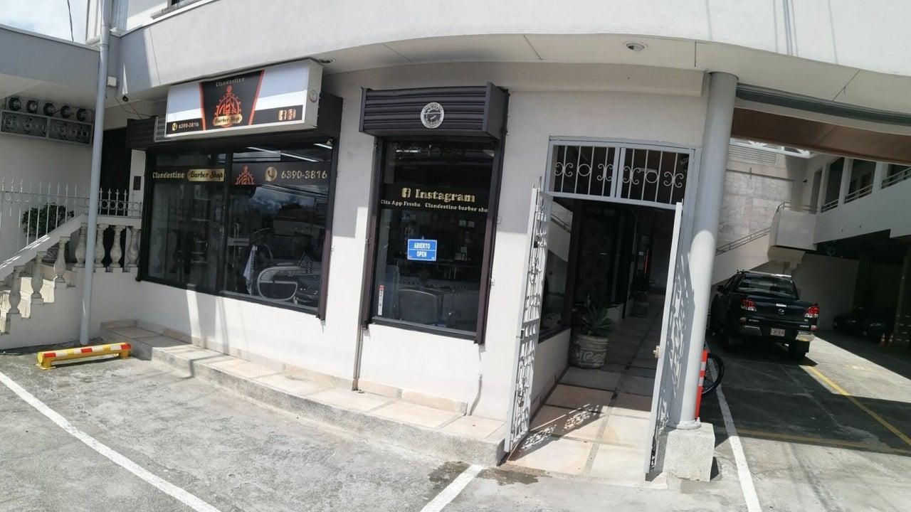 clandestine barber shop - 1