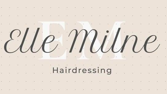 Elle Milne hairdressing