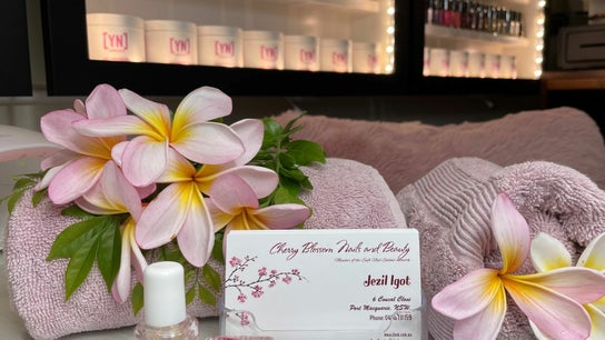 Cherry Blossom Nails and Beauty