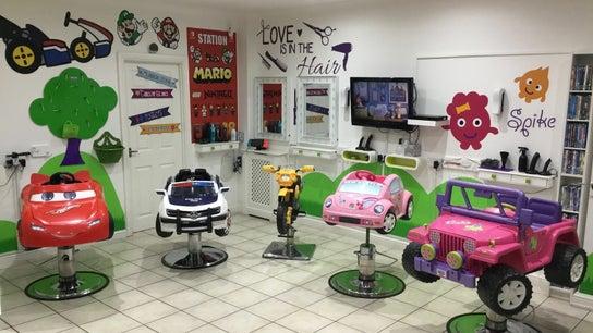 Fidgets the salon for kids Whitley Bay