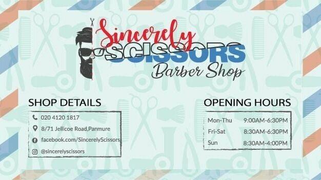 Sincerely Scissors Barbershop - 1
