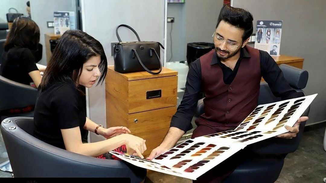 Sameer Salmani the artist salon & academy