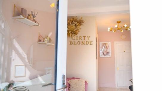 Dirty blonde hair salon