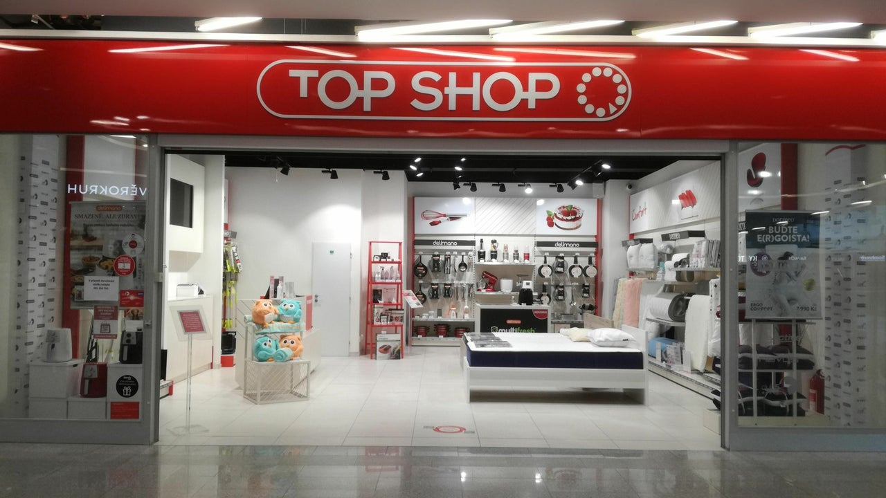 TOP SHOP - Bondy Centrum, Mladá Boleslav