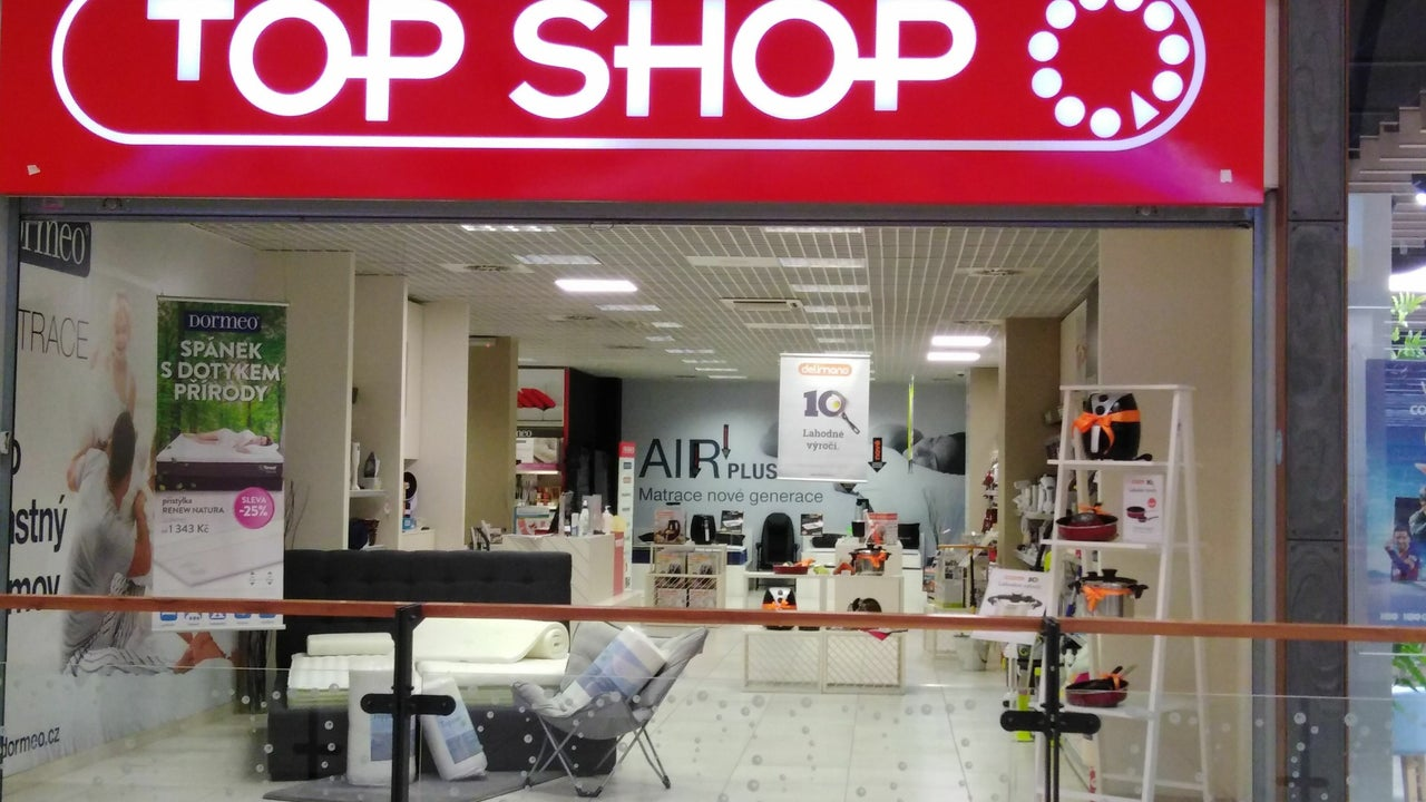 TOP SHOP Liberec - Obchodní centrum Nisa Liberec