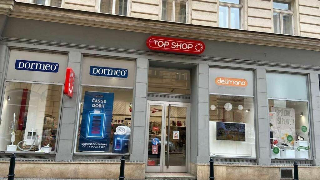 TOP SHOP - Palackého 14 Praha