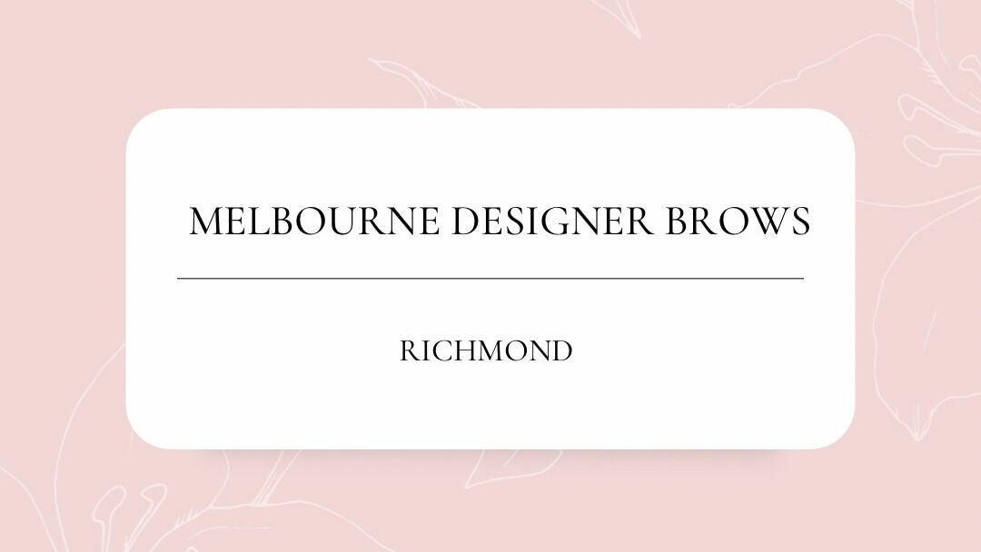 Melbourne Designer Brows - Richmond