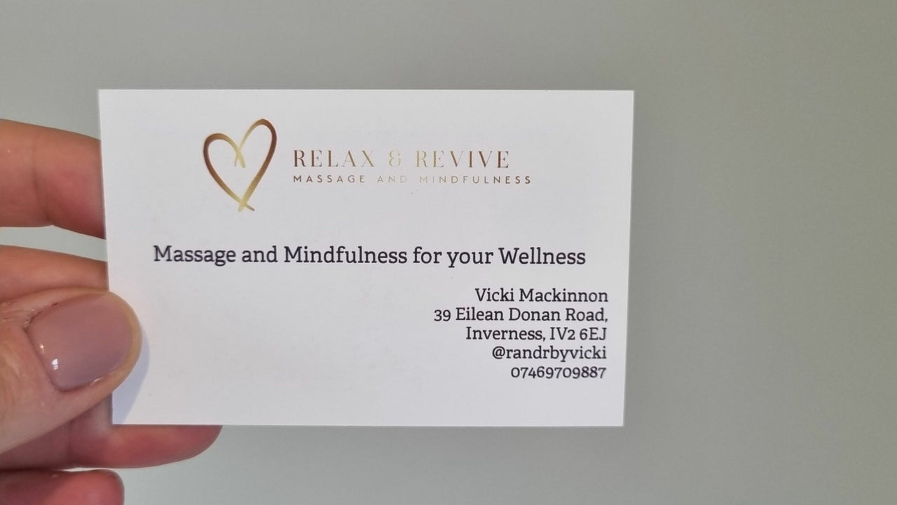 Relax and Revive - Massage and Mindfulness - R&R by Vicki - 1