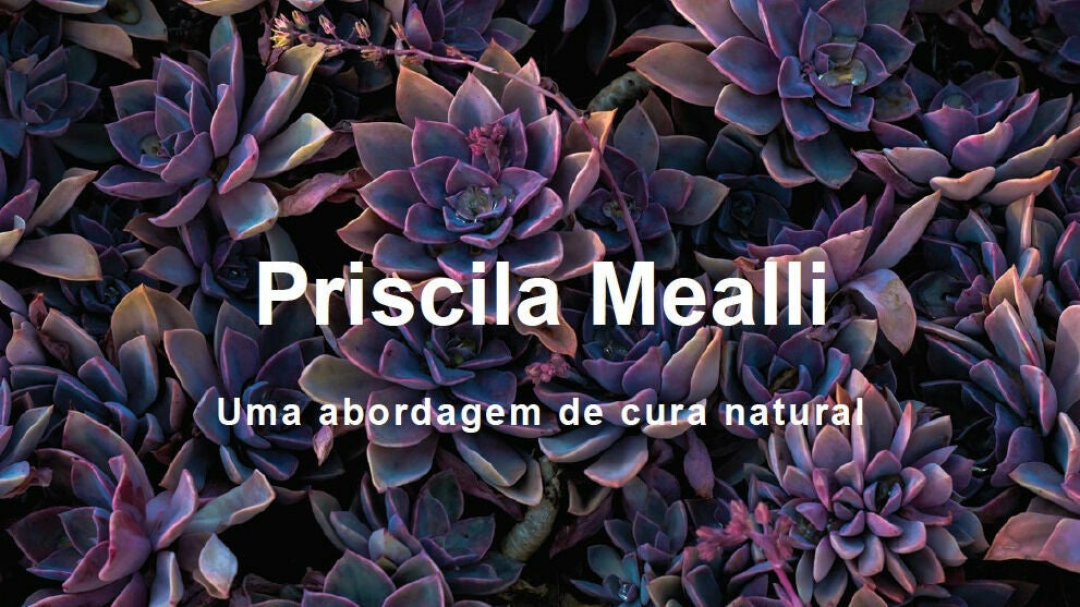 Terapias Integrativas Priscila Mealli