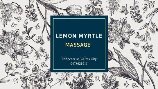 Lemon Myrtle Massage