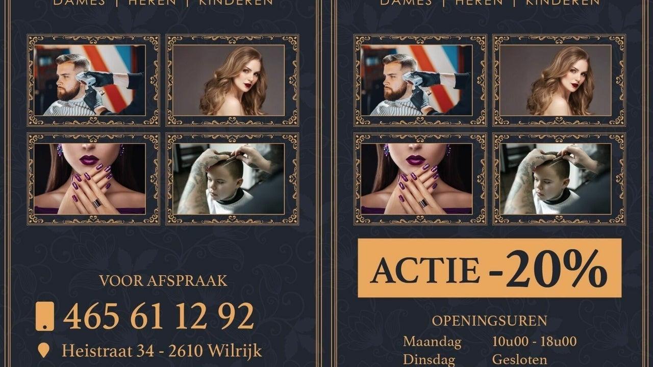 kapsalon top style Wilrijk