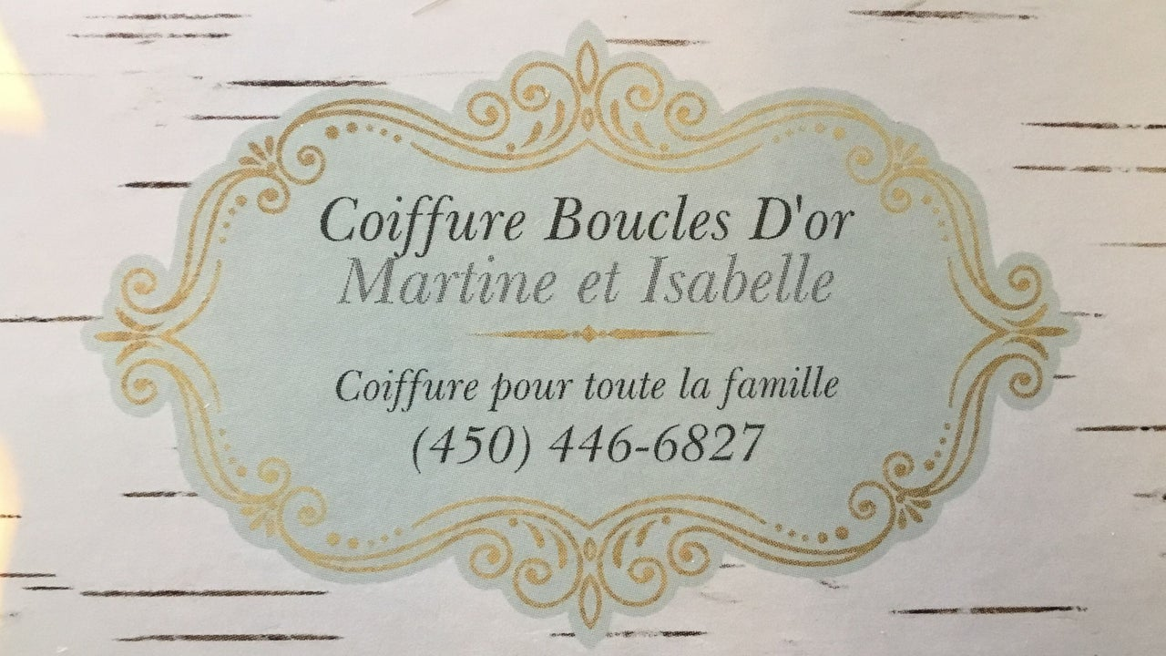 Coiffure Boucles D'Or